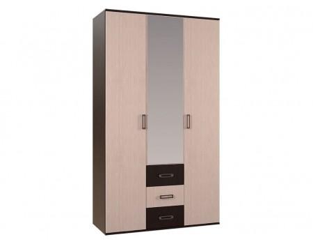 Шкаф 3-х створчатый Белла, цвет Венге / Белфорд