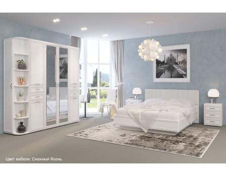 Спальня Карина - композиция 3, цвет Снежный Ясень
