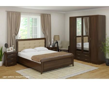 Спальня Карина - композиция 4, цвет Акация Молдау