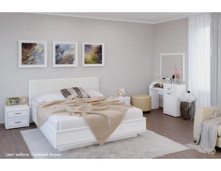 Спальня Карина - композиция 7, цвет Снежный Ясень