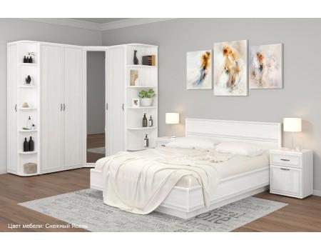 Спальня Карина - композиция 8, цвет Снежный Ясень