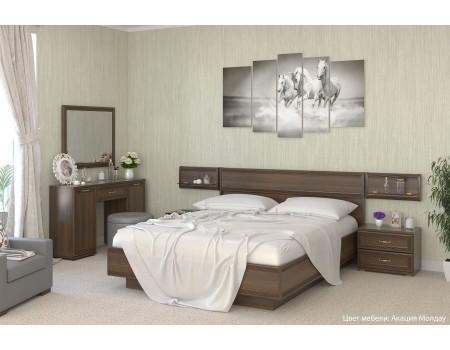 Спальня Карина - композиция 8, цвет Акация Молдау