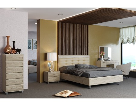 Спальня Мелисса - композиция 4, цвет Гикори Джексон светлый