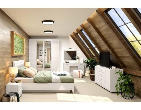 Спальня Мелисса - композиция 7, цвет Снежный Ясень