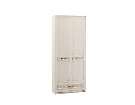 Шкаф комбинированный Флоренция 13.04, цвет: Ясень Анкор светлый / Фотопечать