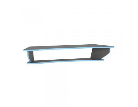 Полка Индиго 10.111, цвет: Тёмно-серый