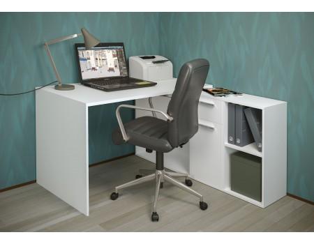 Стол письменный Лайт 03.245, цвет: Белый