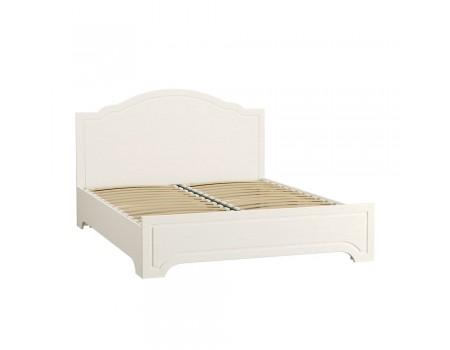Кровать Ливерпуль 11.08, цвет: Ясень ваниль / Белый