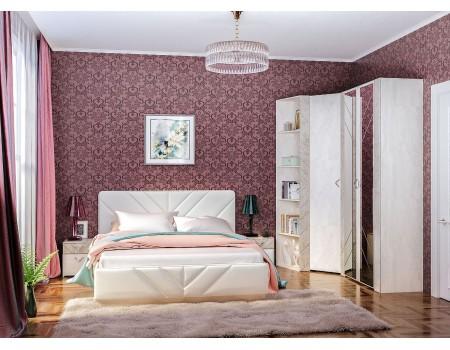 Спальня Амели, цвет: Шёлковый камень / Бетон Чикаго беж