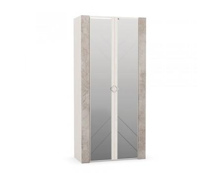 Шкаф для одежды Амели 13.133, цвет: Шёлковый камень / Бетон Чикаго беж