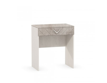 Стол туалетный Амели 12.48, цвет: Шёлковый камень / Бетон Чикаго беж