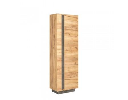 Шкаф комбинированный Арчи 10.05, цвет: Дуб золотой CRAFT, Камень тёмный