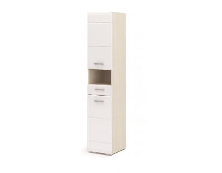 Пенал с ящиком Симба, цвет: Дуб Белфорт / Белый глянец