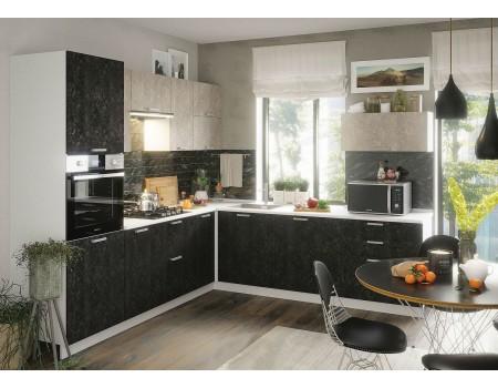 Кухня Бетон - композиция 1, цвет: Бетон темный