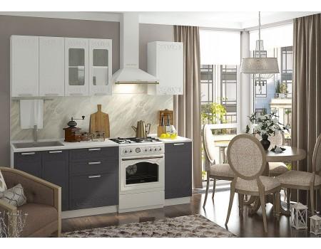 Кухня Кремона - композиция 1, цвет: Муссон / Крем