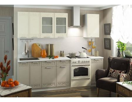 Кухня Кремона - композиция 3, цвет: Муссон / Крем