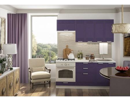 Кухня Кремона - композиция 4, цвет: Орхидея