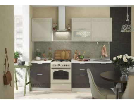 Кухня Кремона - композиция 5, цвет: Муссон / Крем