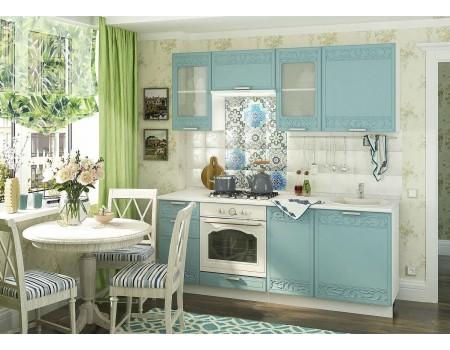 Кухня Кремона - композиция 7, цвет: Топаз