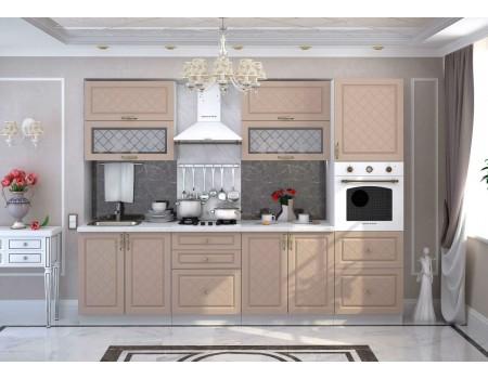 Кухня Модена - композиция 1, цвет: Дуб кофе
