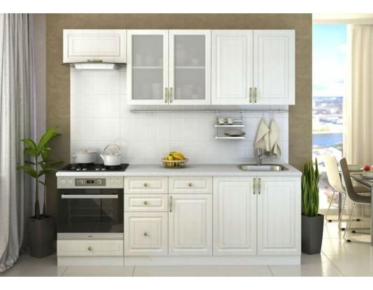 Кухня Юлия - композиция 10, цвет: Сандал белый