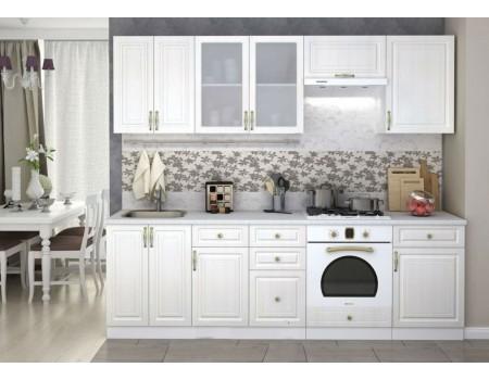 Кухня Юлия - композиция 2, цвет: Сандал белый
