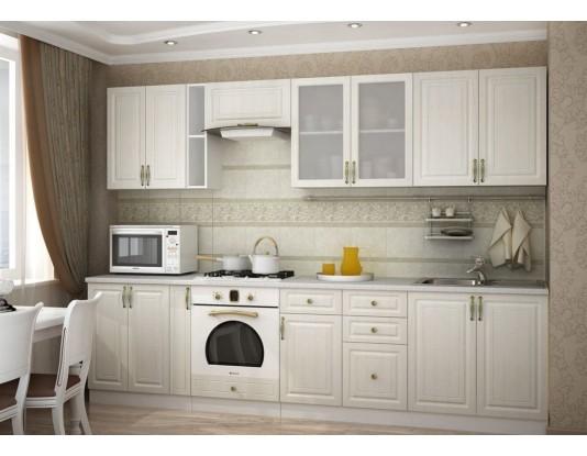 Кухня Юлия - композиция 3, цвет: Сандал белый