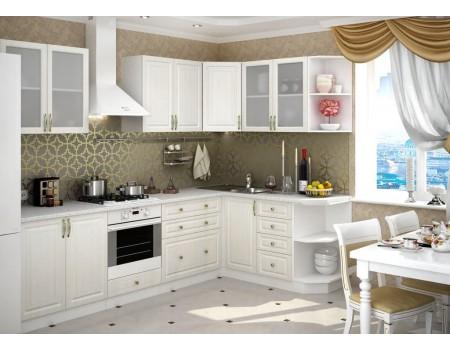Кухня Юлия - композиция 5, цвет: Сандал белый