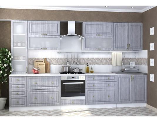 Кухня Юлия - композиция 7, цвет: Сандал серый