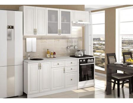 Кухня Юлия - композиция 9, цвет: Сандал белый