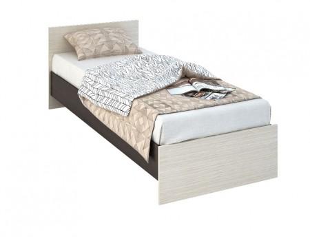 Кровать Бася КР-554, цвет: Венге / Белфорт