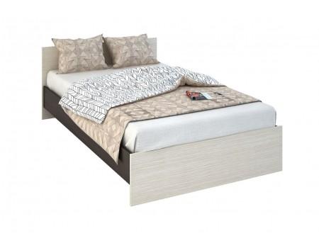 Кровать Бася КР-556, цвет: Венге / Белфорт