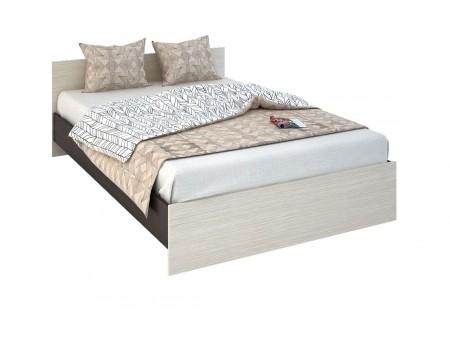 Кровать Бася КР-557, цвет: Венге / Белфорт