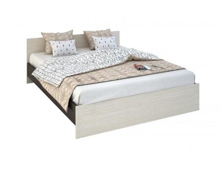 Кровать Бася КР-558, цвет: Венге / Белфорт