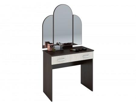 Стол макияжный Бася СТ-551-М, цвет: Венге / Дуб белфорт