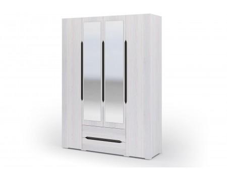 Шкаф 4-х створчатый с ящиками Валенсия, цвет: Дуб Анкор