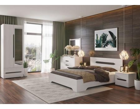 Спальня Валенсия - композиция 1, цвет: Дуб Анкор