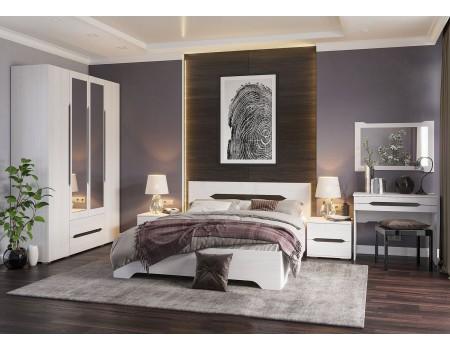 Спальня Валенсия - композиция 2, цвет: Дуб Анкор