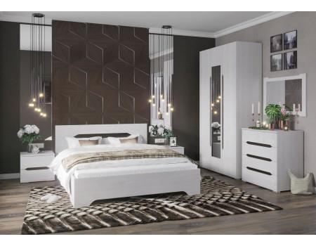 Спальня Валенсия - композиция 3, цвет: Дуб Анкор