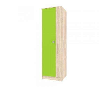Шкаф 2-х дверный Колибри, цвет: Дуб Сонома / Акрил Мохито