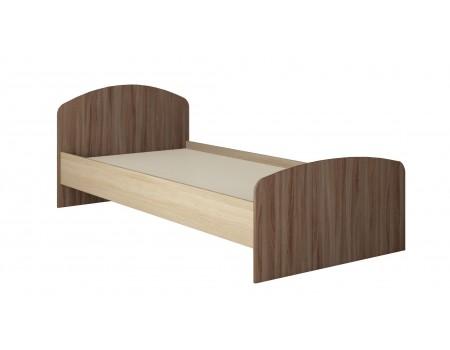 Кровать Орион, цвет: Ясень шимо, Дуб сонома
