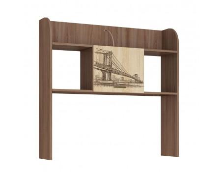 Надстройка стола Орион, цвет: Ясень шимо, Дуб сонома