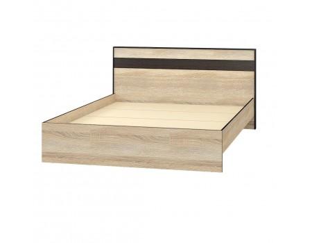 Кровать Лирика, цвет: Дуб сонома / Венге цава