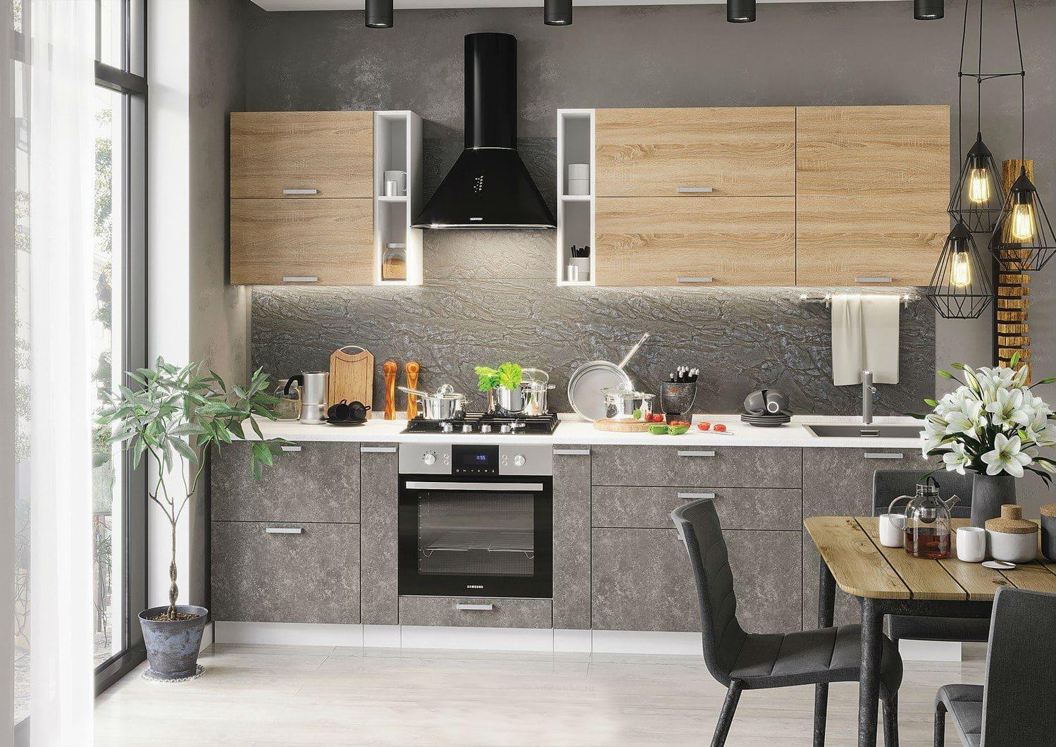 Кухня бетон стендмебель стоимость цемента м500 в москве